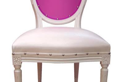 Dossier de chaise en acrylique