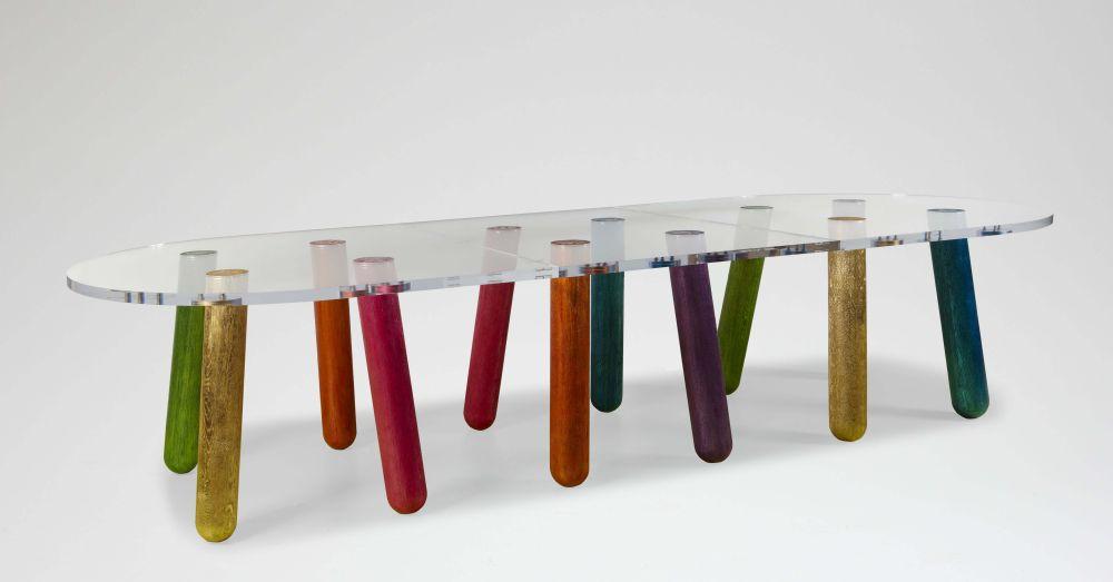 Table en plexiglas